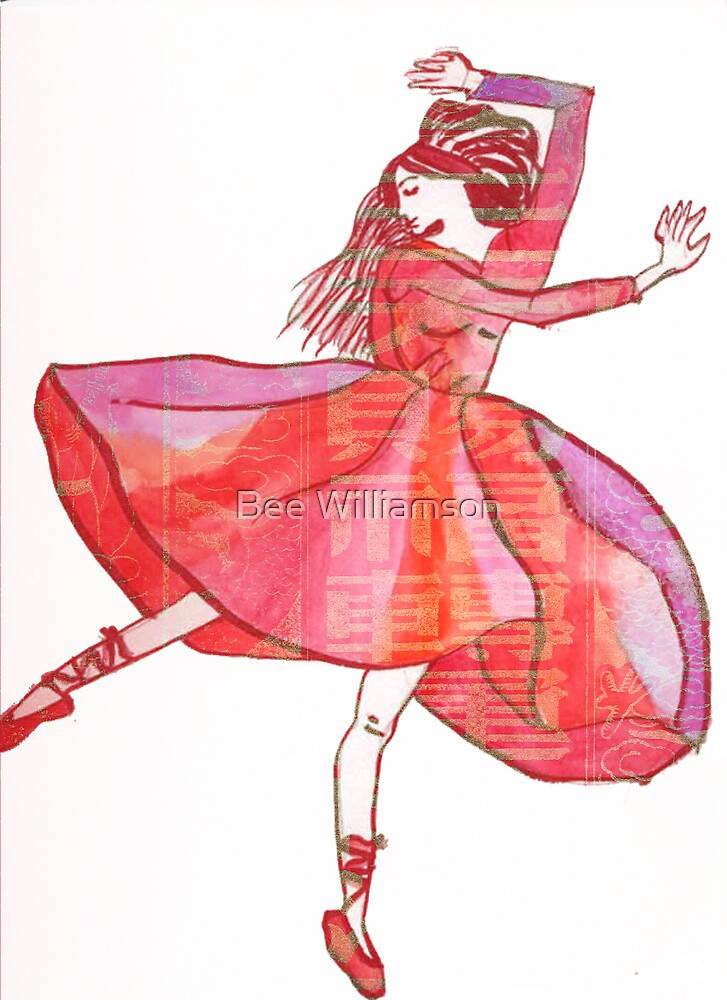 The Red Shoes by Bee Williamson