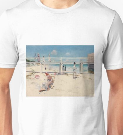 Charles Conder - A Holiday At Mentone 1888 Unisex T-Shirt