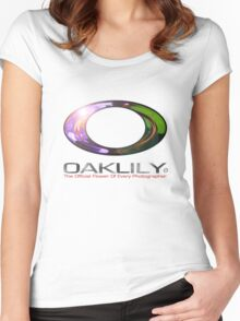 OAKLILY T-SHIRT for every Photographer! Women's Fitted Scoop T-Shirt