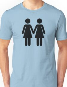 Lesbian couple Unisex T-Shirt