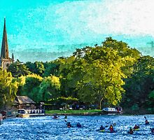 Artwork River Avon by ncp-photography