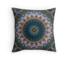 Nebulaic Flower of the Universe Throw Pillow