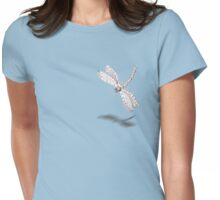 Sketch of a Dragonfly Womens Fitted T-Shirt