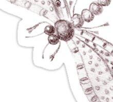 Sketch of a Dragonfly Sticker