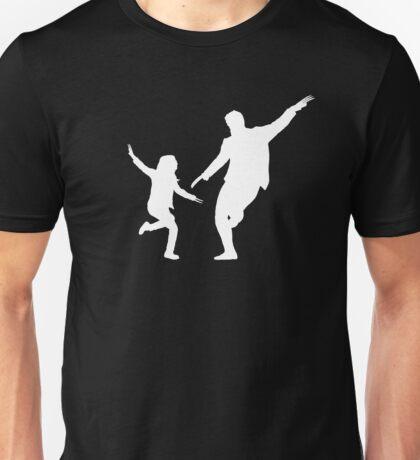 LA LA LOGAN - White Unisex T-Shirt