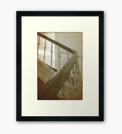 My house is haunted - another impression Framed Print