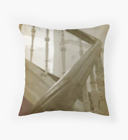 My house is haunted - another impression Throw Pillow