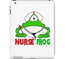 Nurse Frog iPad Case/Skin