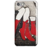 Red Boots iPhone Case/Skin