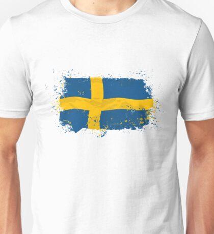 Sweden Flag  Unisex T-Shirt