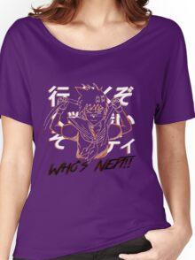 "Sakura ""Who's next"" Street Fighter Women's Relaxed Fit T-Shirt"