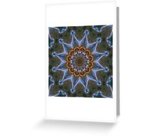 Cosmic Star Dust Blossom Greeting Card
