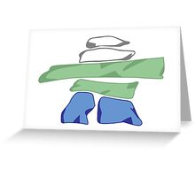 Flag of Nunatsiavut Greeting Card