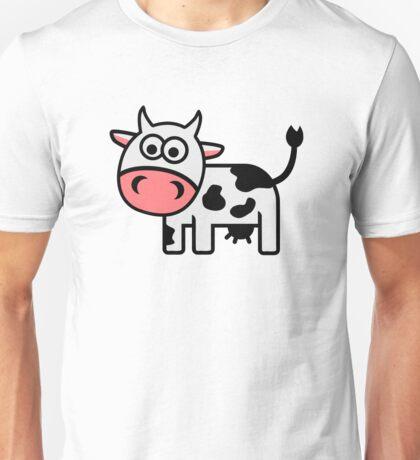 Cute comic cow Unisex T-Shirt