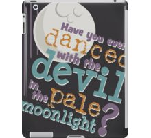 Pale Moon Light iPad Case/Skin