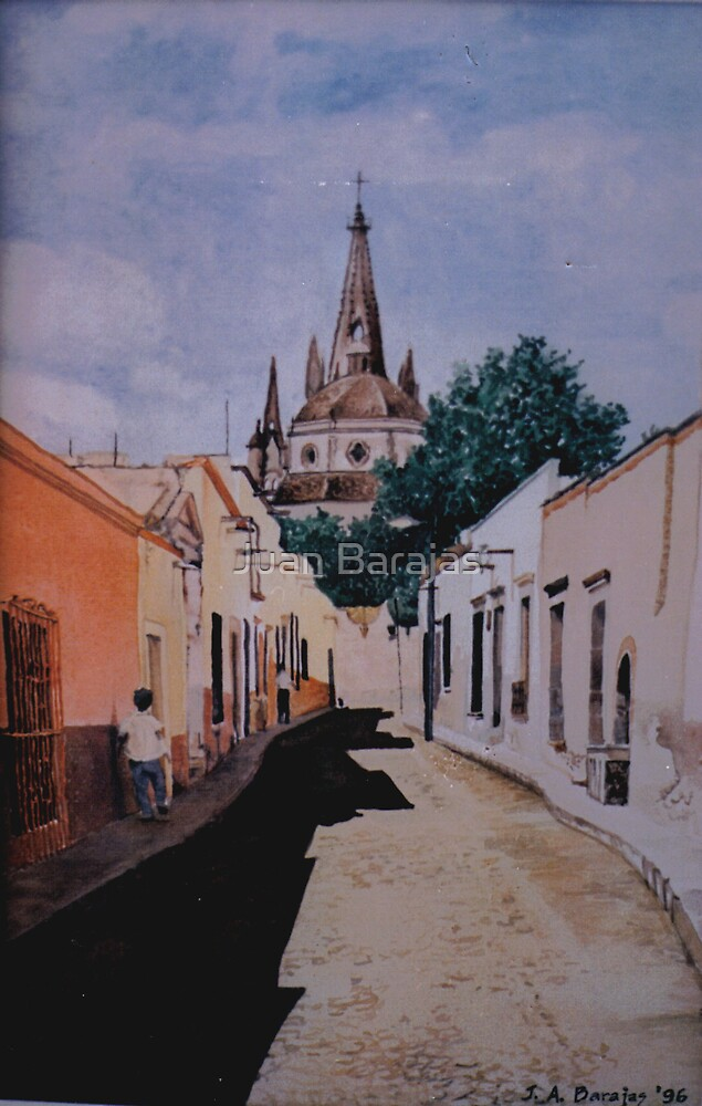 Callejon de San Miguel de Allende by Juan Barajas