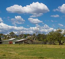 Rural Scene at Kilcoy by JLOPhotography