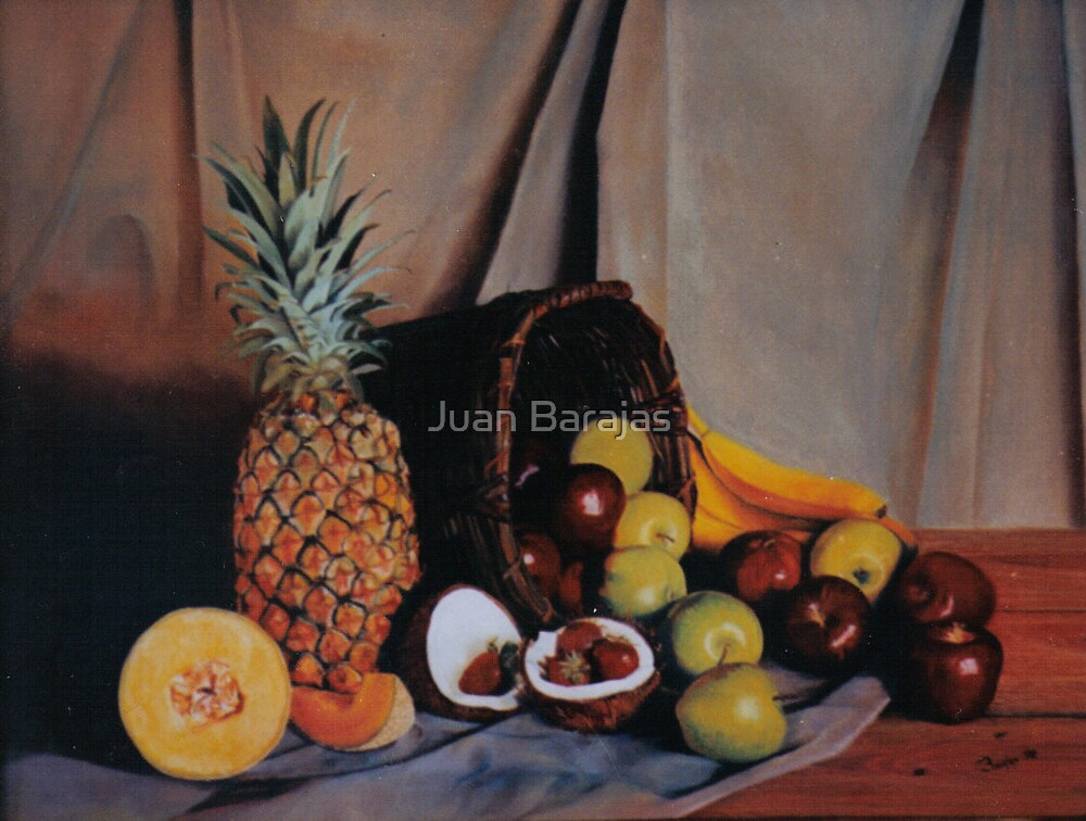 Bodegon con fresas by Juan Barajas