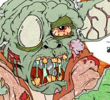Zombie Yoda Sticker