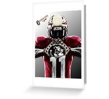 Florida State Seminoles Football Greeting Card