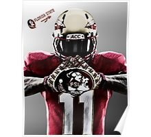 Florida State Seminoles Football Poster