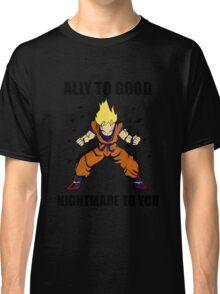 Goku powerup Classic T-Shirt