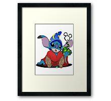 Sorcerer Stitch Framed Print