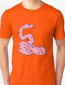 SNAKE EYES (pastel pink) Unisex T-Shirt