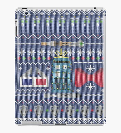 Who Christmas Sweater iPad Case/Skin