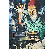 Alchemist and the Dragon Photographic Print
