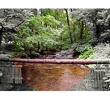 Lovely Stream from the Aira Force Waterfall - Lake District Photographic Print