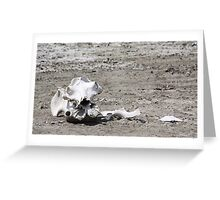 Death in a Dead Lake. The Stark reality of Climate Change, Tanzania Greeting Card