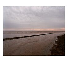 Incoming tide         Cardiff Foreshore Early Morning    Winter 2006 by Robski