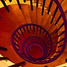 Spiraling down.... by Andy Harris