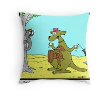 Move Back Home Throw Pillow