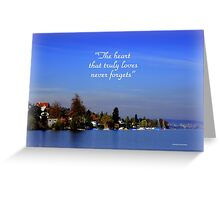 The Beauty of Zurisee Greeting Card
