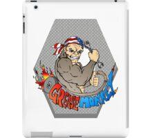 Grease Monkey Logo iPad Case/Skin