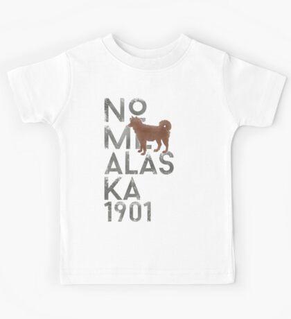 Nome Alaska 1901 Kids Tee