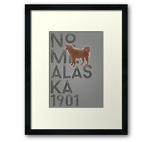 Nome Alaska 1901 Framed Print
