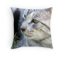 Ignoring Me Throw Pillow