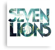 Seven Lions Metal Print