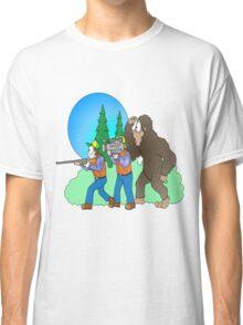 Hunting Bigfoot Classic T-Shirt