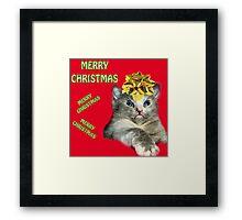 christmas card #5 Framed Print