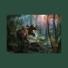 Hand drawn moose. by CanyonWind