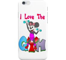 Minnie Workout iPhone Case/Skin