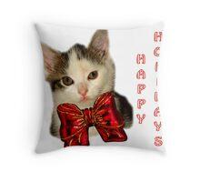 christmas card #6 Throw Pillow
