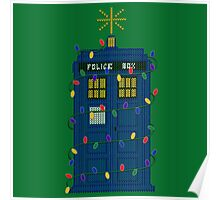 Happy Christmas from the TARDIS Poster