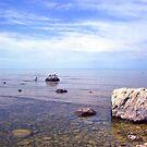 Shoreline Meditation by velveteagle