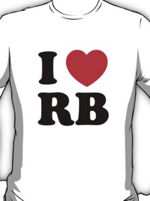 i heart RB T-Shirt