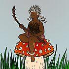 The Mushroom Queen by Tatiana  Gill